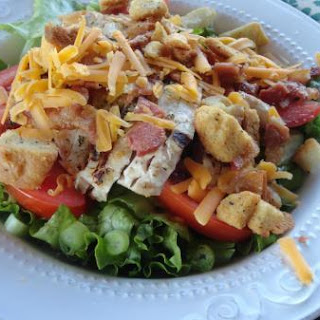 GRILLED CHICKEN SALAD, RESTAURANT STYLE