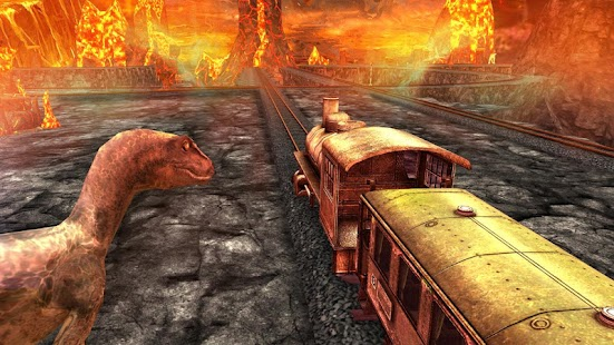 Train Simulator - Dino Park screenshot