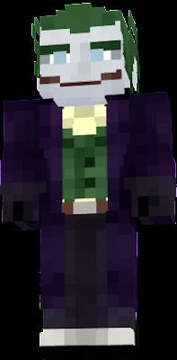 Joker Nova Skin - Skins para minecraft pe joker