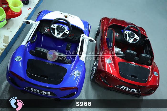 Xe ô tô điện cảnh sát XYS-966 6