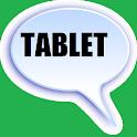 Tablet messenger para whatsapp icon