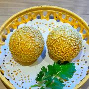 Green Tea Sesame Ball