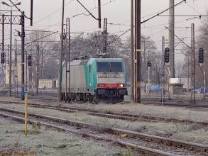 Photo: E 186 245-7 (Freightliner PL; dzierżawa od RBS Asset Finance Europe Ltd.) {Toruń Główny; 2013-12-03}