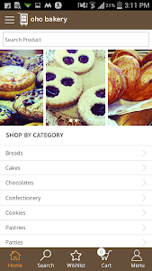 OhoShop Bakery App screenshot 0