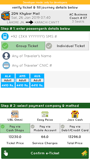 Pakistan Railways Official 4.4 screenshots 4