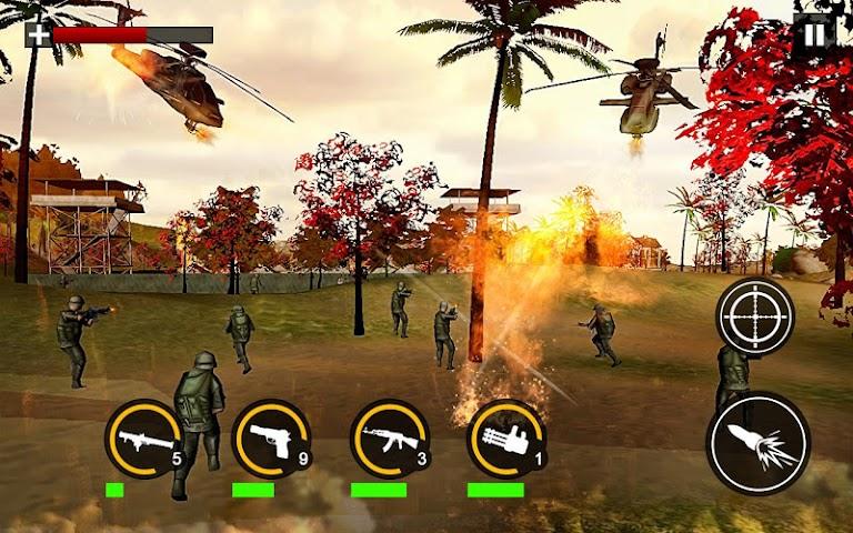 android Modern Commando Combat Shooter Screenshot 11