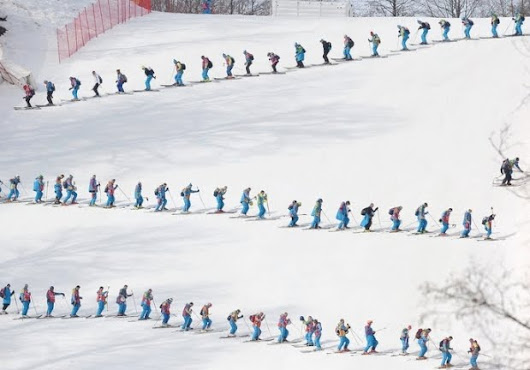 Preparing Ski Slopes for Competition | Behind the Scenes at Sochi