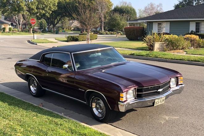 1971 Chevelle Malibu Hire CA