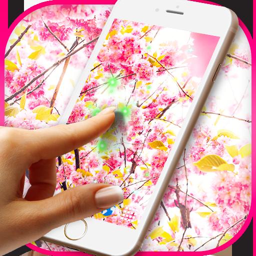 Flowers Magic Touch Wallpaper (app)