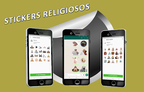 Stickers Religiosos WAStickerApps Screenshot