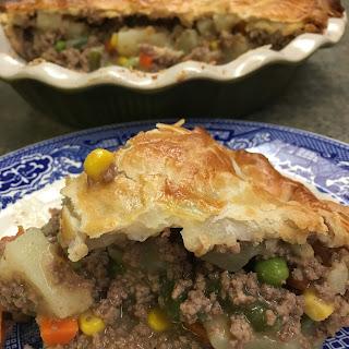 Easy Ground Beef Pot Pie.