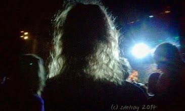 Photo: Grateful for the light shinning through her hair.