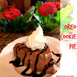 No-Bake Oreo Cookie Pie
