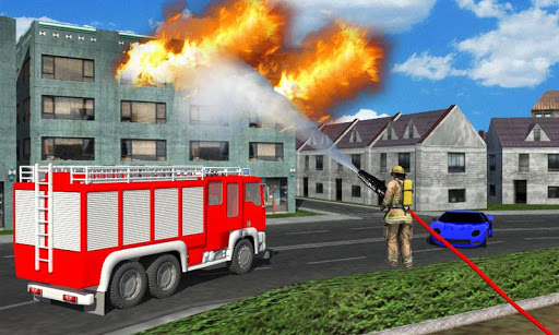 Fire Brigade: Fire Truck Rescue Game 2.0 screenshots 5