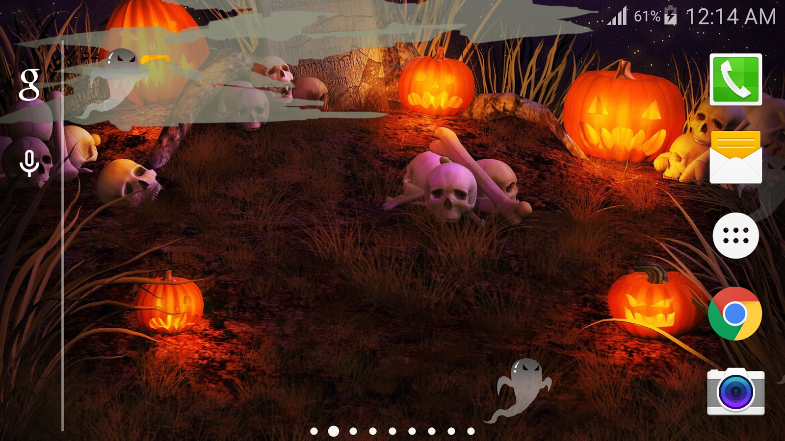 halloween live wallpaper free android apps on google play