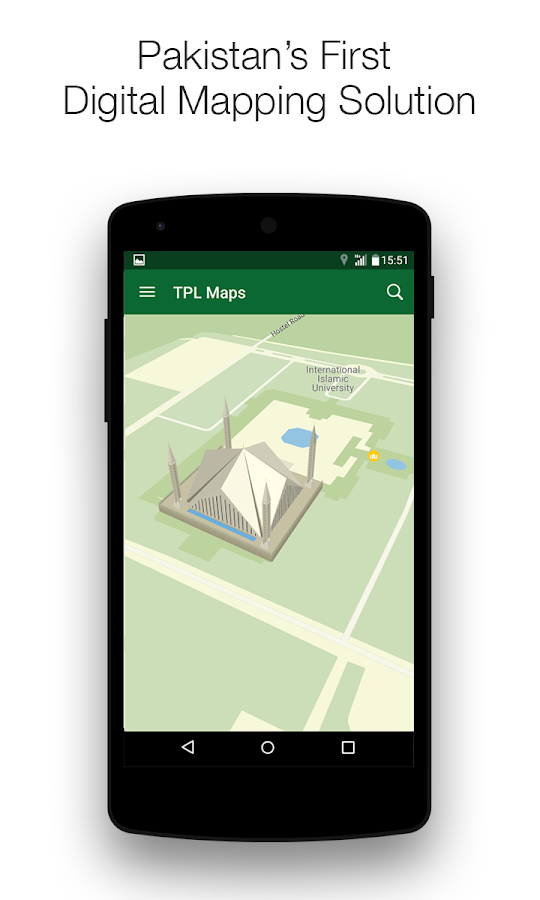 TPL Maps - Location & Navigation- screenshot