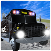 Cops Bus Driver: Crazy 3D Sim