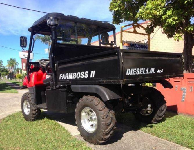 1000cc synergy diesel farm boss farmboss side x side 4wd utv utility daihatsu farm vehicle cheap sale