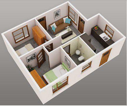 3Dハウスプランの設計