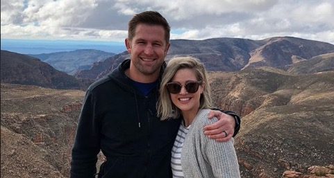 Minki van der Westhuizen and her hubby, Ernst Joubert enjoy some quality time together.
