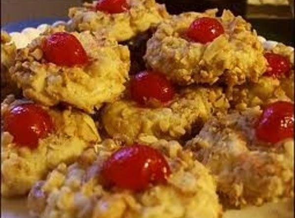 White Chocolate Cherry Cookies Recipe