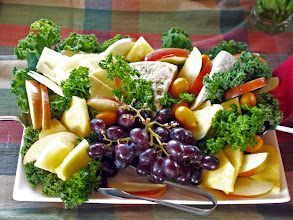 Photo: Fruit and Cheese Plate