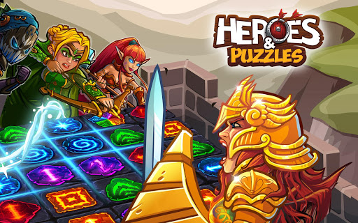 Heroes and Puzzles - screenshot