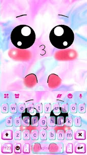 Emoticon Kiss Emojis Keyboard Theme 5