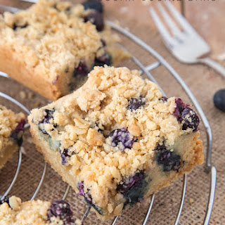 Blueberry Sugar Cookie Bars