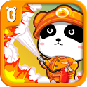 Little Panda Fireman icon