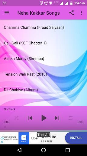 Neha Kakkar Songs 2.1 screenshots 1