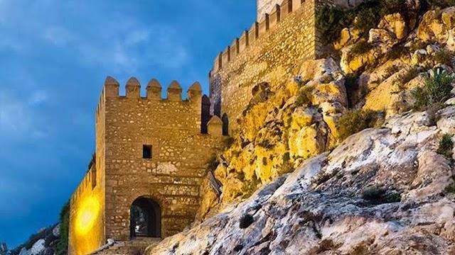 La Alcazaba es la seña de identidad de la ciudad.