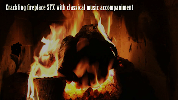Screenshot of Virtual Fireplace