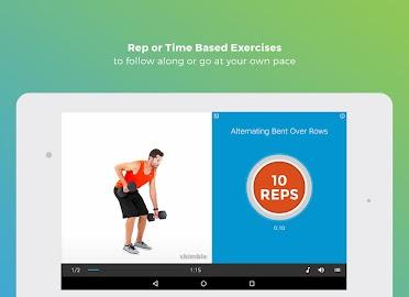 Workout Trainer fitness coach Screenshot 22