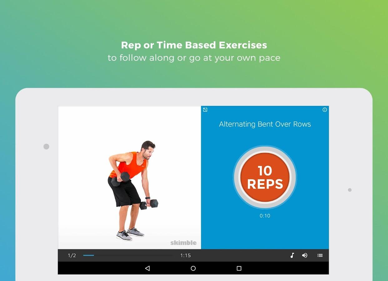 Workout Trainer Fitness Coach Screenshot