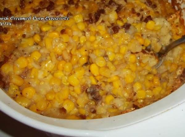 Amish Creamed Corn Casserole