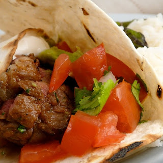 Steak Fajitas with Pico De Gallo