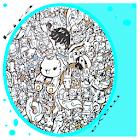 落書きアートスケッチの描画 icon