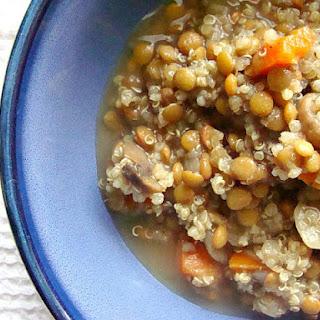 Lentil Quinoa Soup –