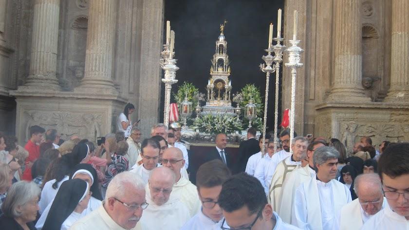 No habrá procesión del Corpus en Almería.
