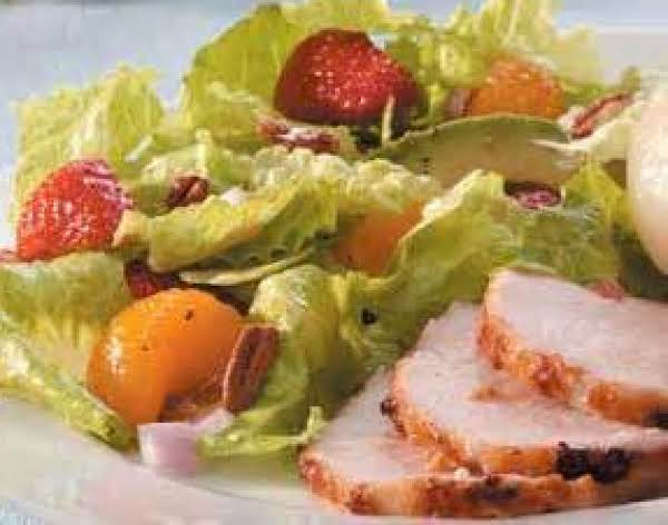 Strawberry Salad With Cinnamon Vinaigrette Recipe