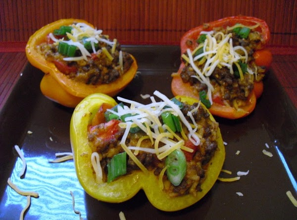 Mexican-style Stuffed Peppers Recipe