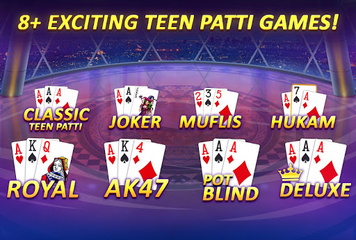 Teen Patti Gold - 3 Patti, Rummy, Poker Card Game screenshot 3