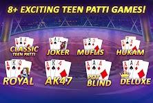 screenshot of Teen Patti Gold - 3 Patti, Rummy, Poker Card Game