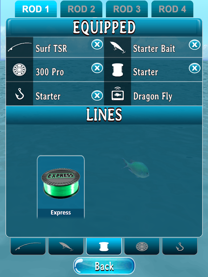 Phil's Fishin: Tournaments- screenshot