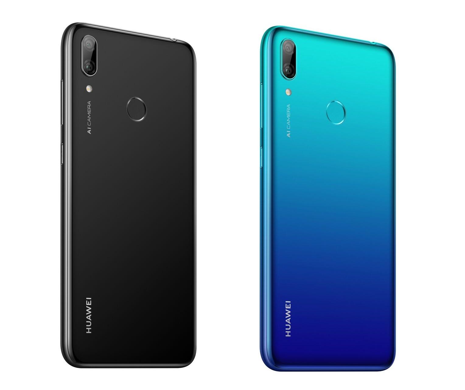 Дизайн Huawei Y7 2019