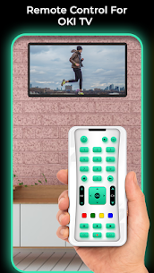 Remote Control For OKI TV 2.0 Mod + Data for Android 2