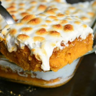 Sweet Potato Casserole Cake