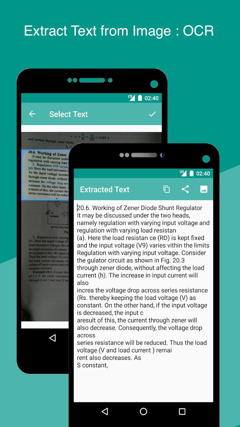 Smart Scan : PDF Scanner Screenshot 4