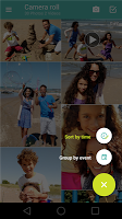 screenshot of Motorola Gallery